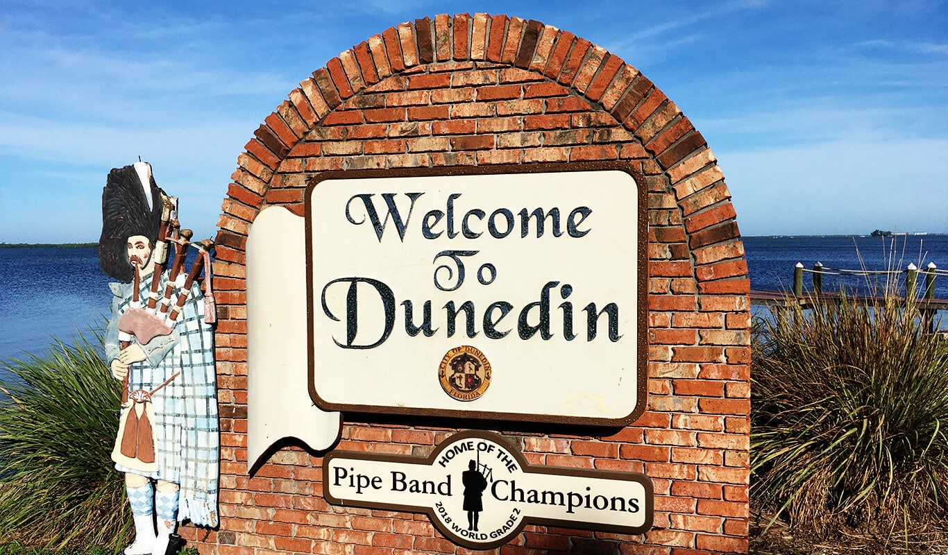 Welcome Sign | Dunedin Florida